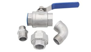 SS Ball Valve & Pipe Fitting