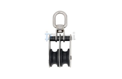 S.BL10 Swivel Eye Folding Pulley