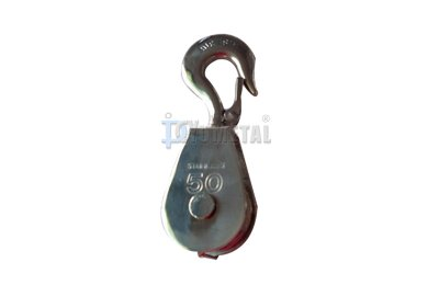 S.BL04 Swivel Hook Pulley, Single Sheave