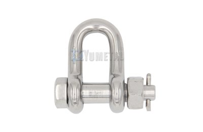 S.SH08 US Type Bolt Safety Pin Dee Shackle